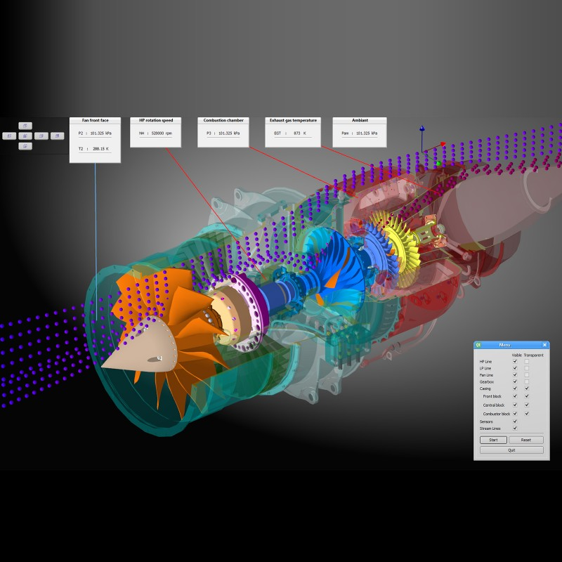 Turbina Simulador