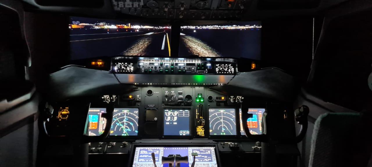 Simulador Boeing 737ng